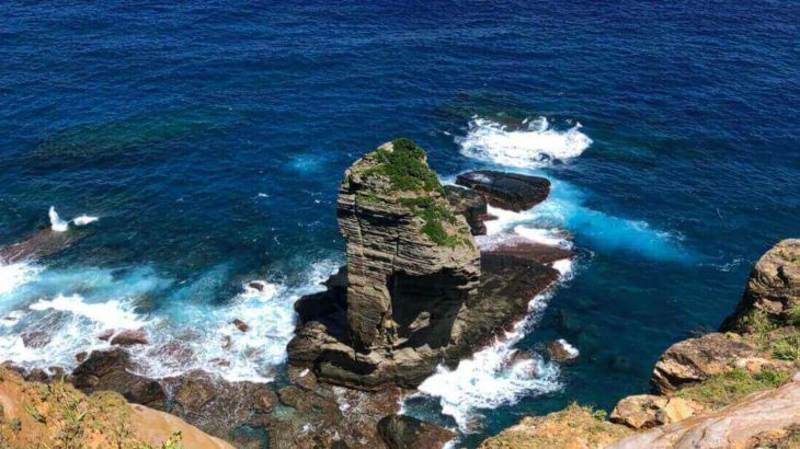 与那国のシンボル!立神岩